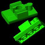 3D Druck Lego / Brio CAD 3D Model