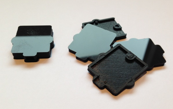3D gedruckte mini Gehäuse für Sensoren