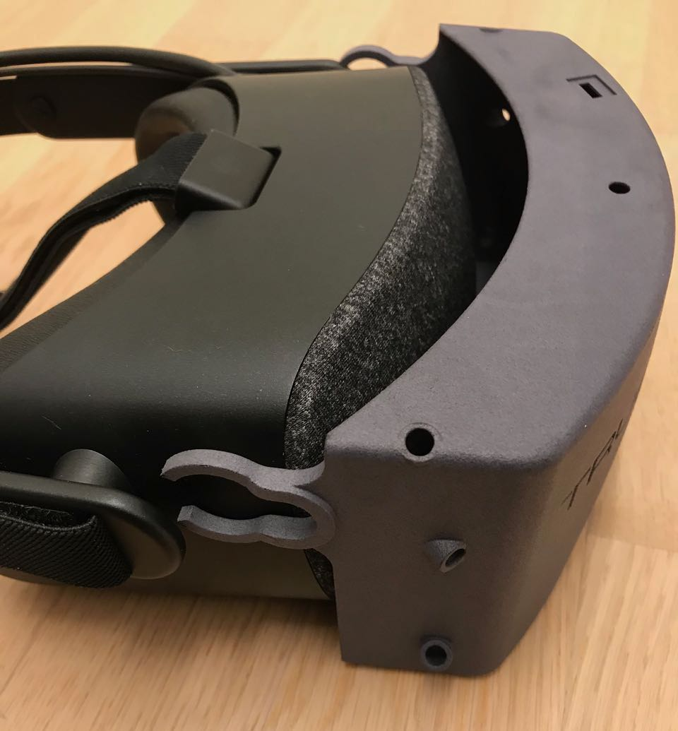 CAD Design Aufsatz VR Brille