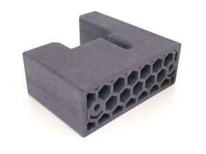 Leichtbau mit Wabenstruktur aus Polyamid im 3D-Druck MJF Verfahren