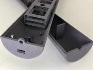Sensor- / Elektronikgehäuse aus Polyamid im 3D-Druck MJF Verfahren